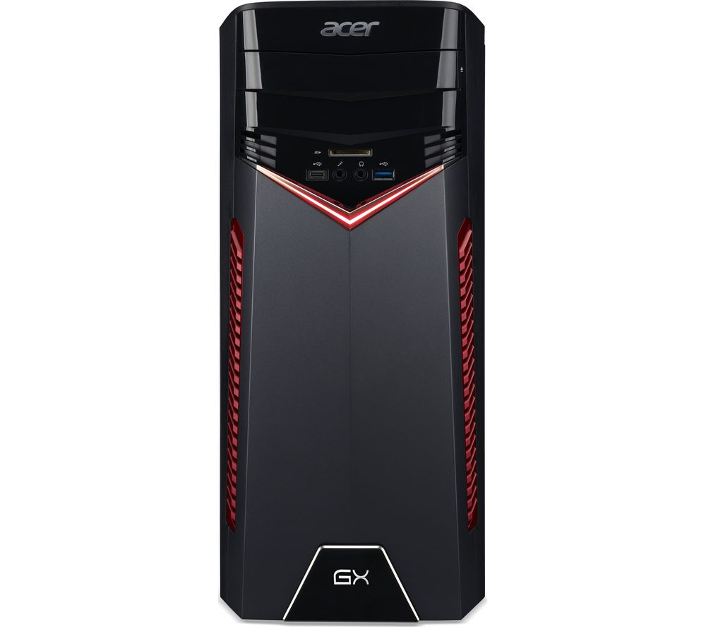 ACER Aspire GX-781 Gaming PC + LiveSafe Premium - 1 user / unlimited devices for 1 year + Office 365 Home - 1 year for 5 users