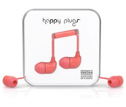 HAPPY PLUGS HP7714 Headphones - Coral