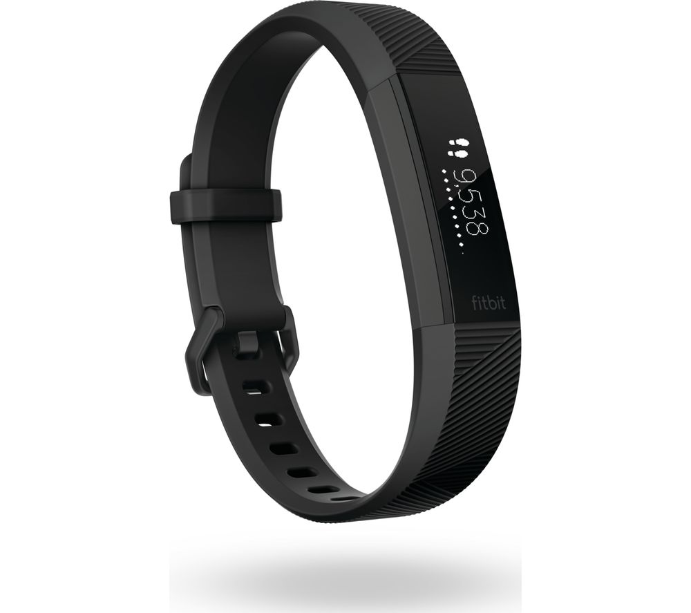 Compare prices for Fitbit Alta HR SE - Gunmetal - Large
