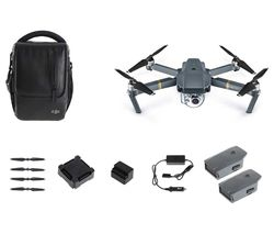 DJI Mavic Pro Drone & Accessories Bundle - Black