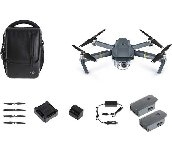 Image of DJI Mavic Pro Drone & Accessories Bundle - Black