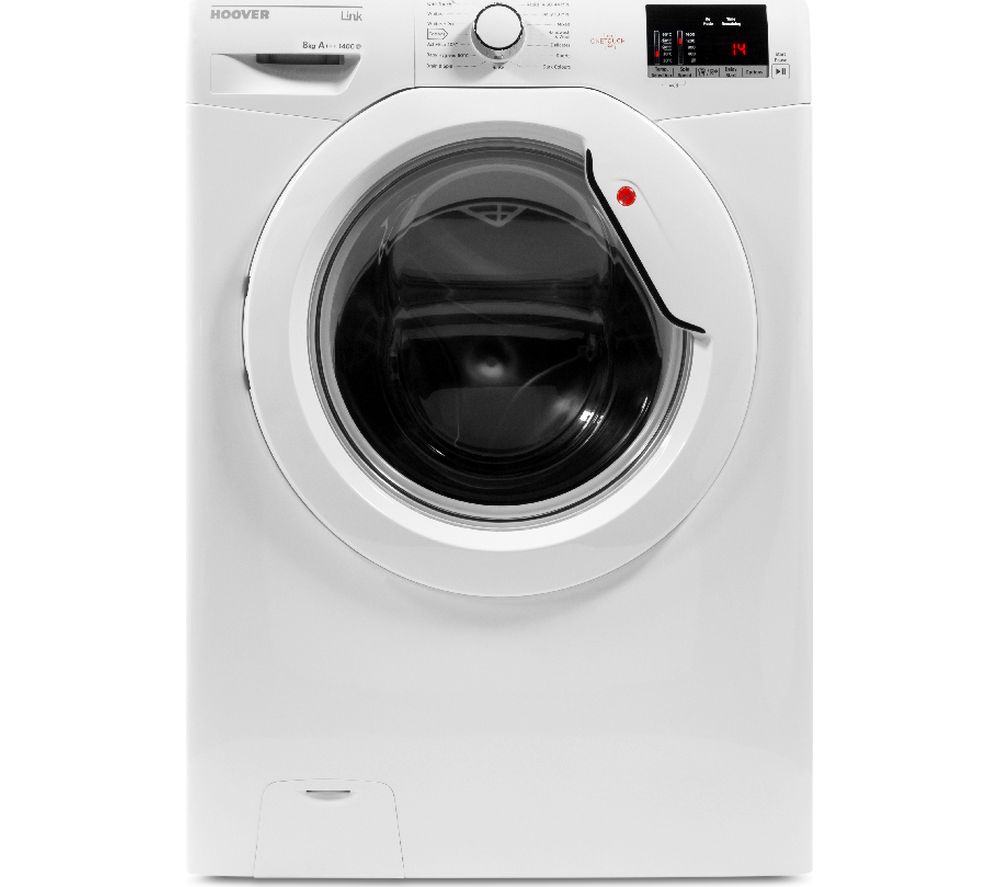 Compare retail prices of Hoover Dynamic Link DHL 1482D3 NFC 8 kg 1400 Spin Washing Machine to get the best deal online