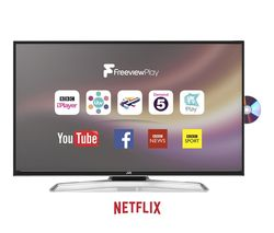 """JVC LT-43C775 43"""" Smart LED TV with Built-in DVD Player"""