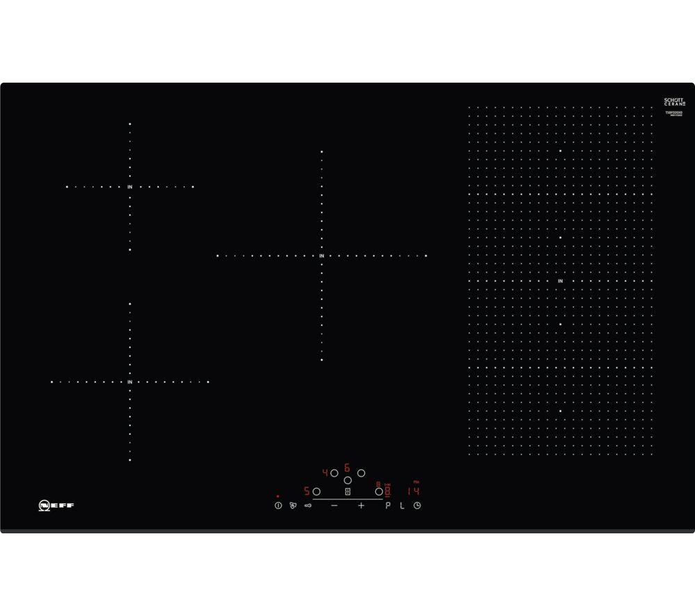 NEFF T58FD20X0 Electric Induction Hob - Black