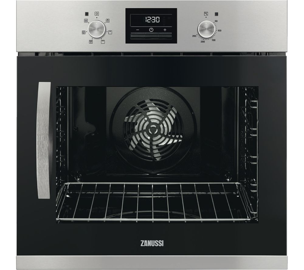 ZANUSSI ZOA35676XK Electric Oven - Black & Stainless Steel
