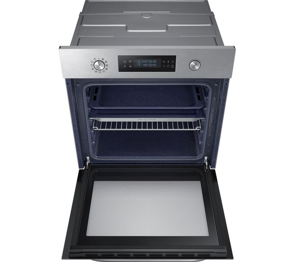 buy samsung dual cook nv66m3531bs electric oven stainless steel free delivery currys. Black Bedroom Furniture Sets. Home Design Ideas