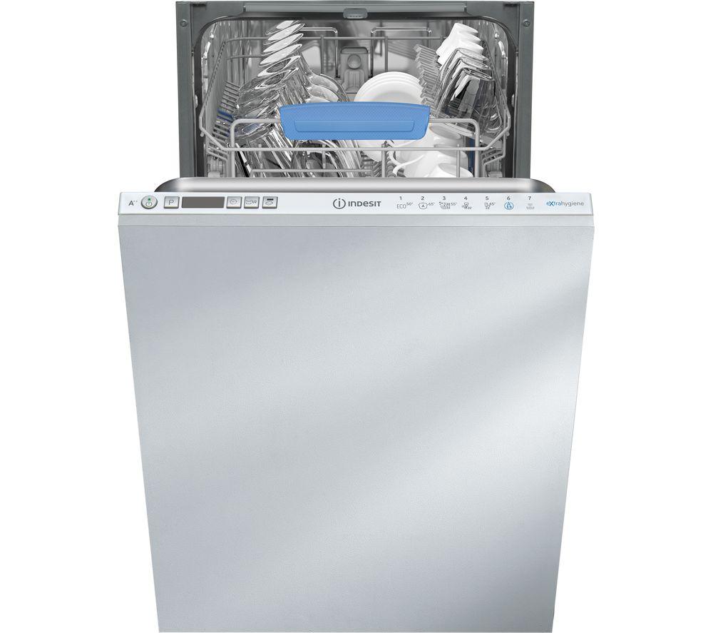 INDESIT DISR 57M96 Z UK Slimline Integrated Dishwasher