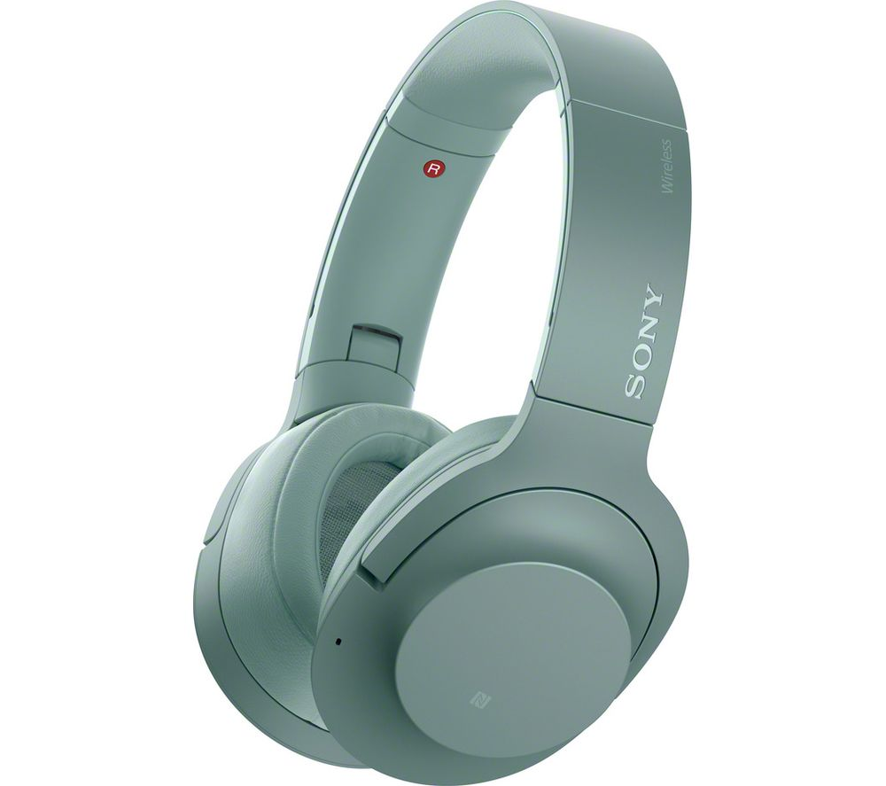 SONY WH-H900N Wireless Bluetooth Noise-Cancelling Headphones - Green