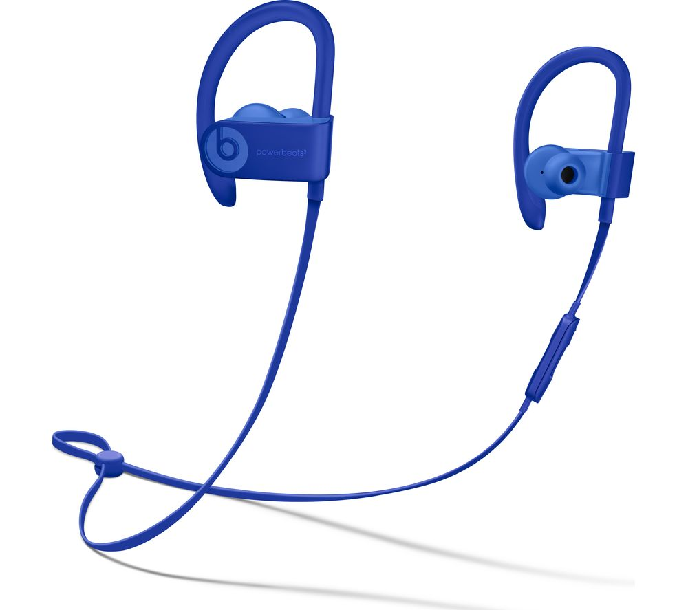 Powerbeats3 Neighbourhood Wireless Bluetooth Headphones - Break Blue