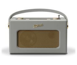 ROBERTS Revival RD70 Portable DAB+/FM Retro Bluetooth Clock Radio - Grey