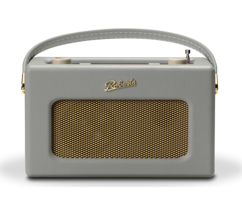buy roberts revival rd70 portable dab fm retro bluetooth clock radio grey free delivery. Black Bedroom Furniture Sets. Home Design Ideas