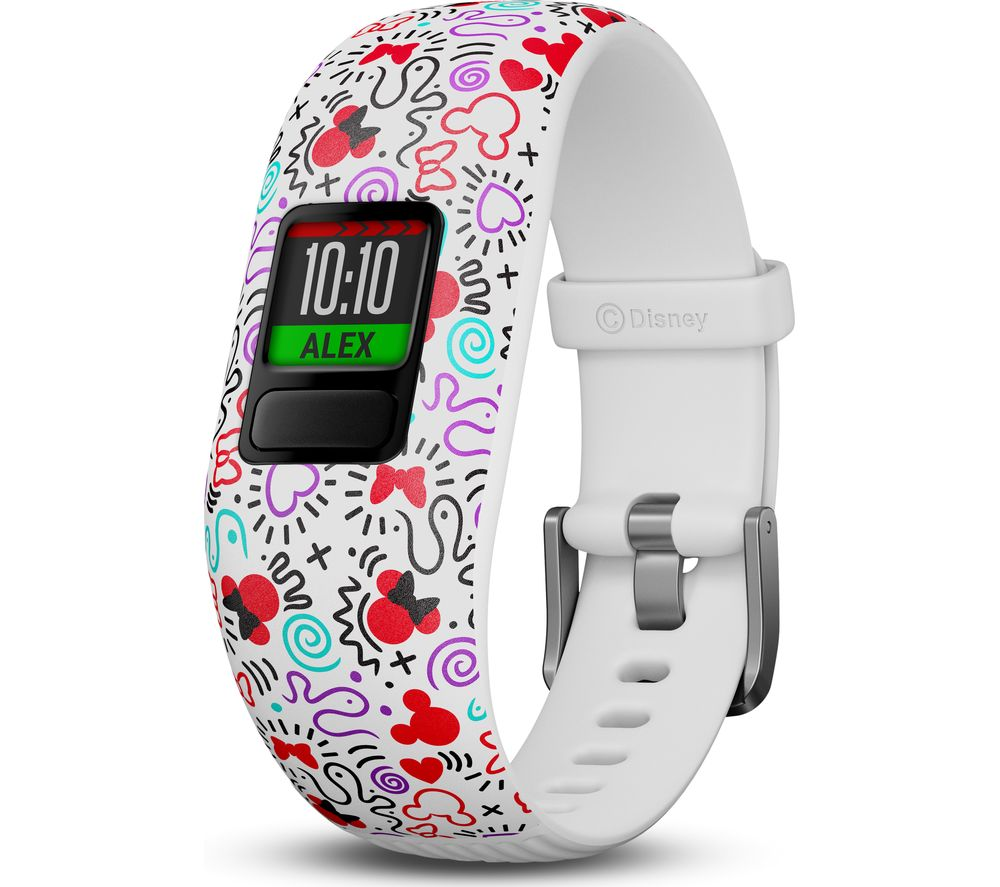 GARMIN vivofit jr. 2 Kid's Activity Tracker - Minnie Mouse, Adjustable Band