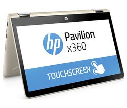 "HP Pavilion x360 14"" Intel® Core™ i5 2 in 1 - 256 GB SSD, Gold"