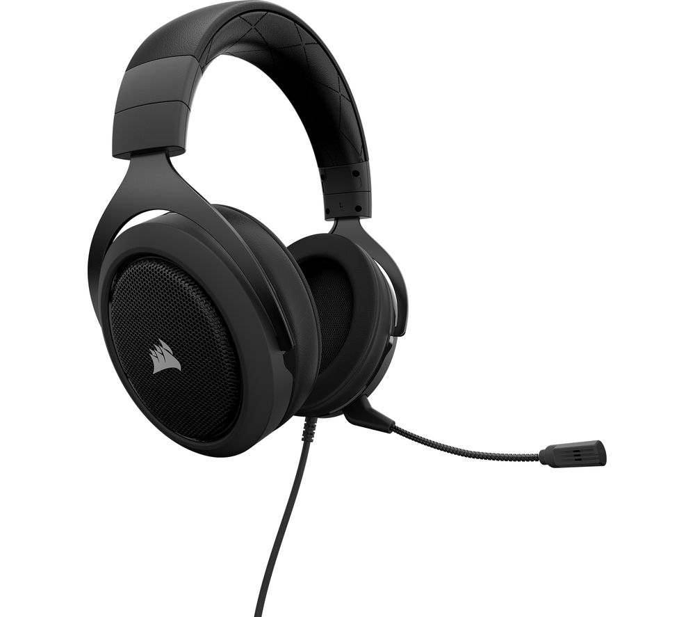 CORSAIR HS50 Gaming Headset - Black