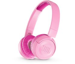 JBL JR300BT Wireless Bluetooth Kids Headphones - Pink