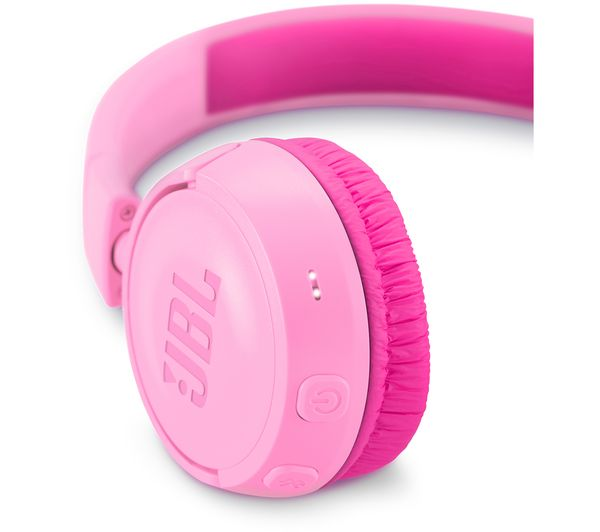 cbdc882468c Buy JBL JR300BT Wireless Bluetooth Kids Headphones - Pink | Free ...