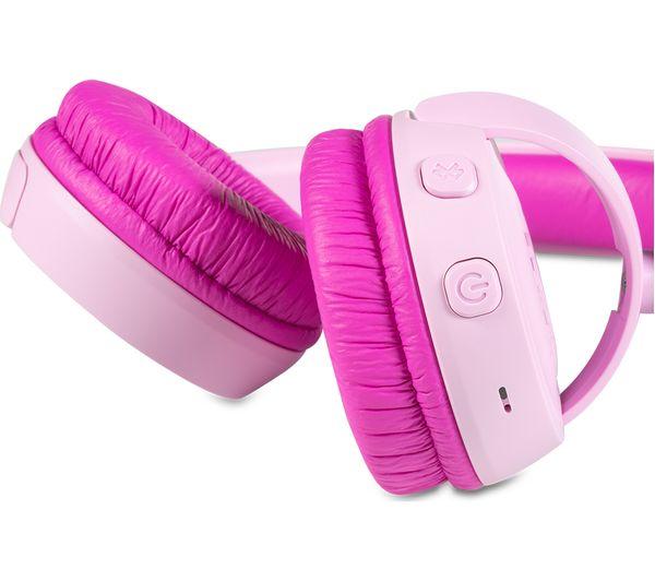 3bd847389c9 Buy JBL JR300BT Wireless Bluetooth Kids Headphones - Pink   Free ...