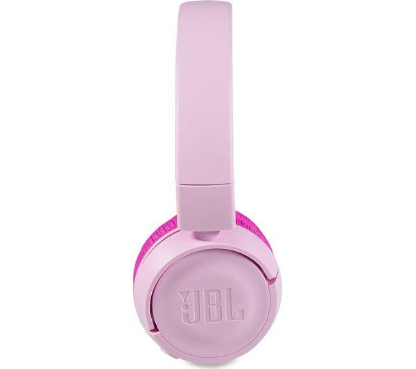 Buy Jbl Jr300bt Wireless Bluetooth Kids Headphones Pink Free Delivery Currys
