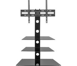Rio MMT-CB55 800 mm TV Stand with Bracket - Black