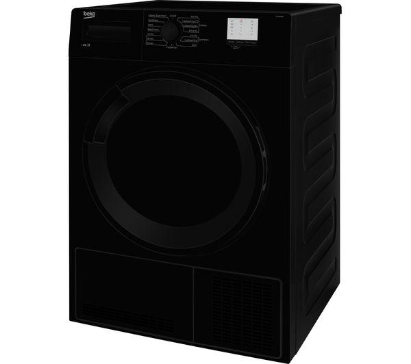 BEKO DTGC8000B 8 kg Condenser Tumble Dryer - Black