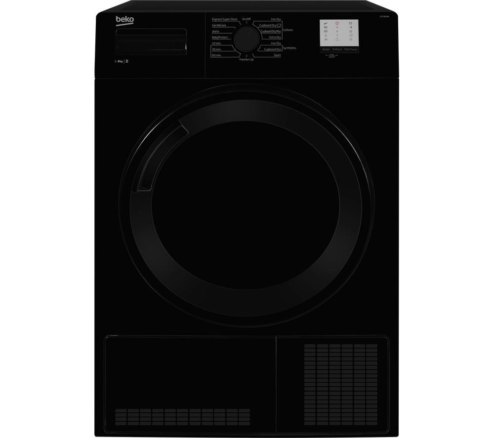 BEKO DTGC8000B 8 kg Condenser Tumble Dryer - Black