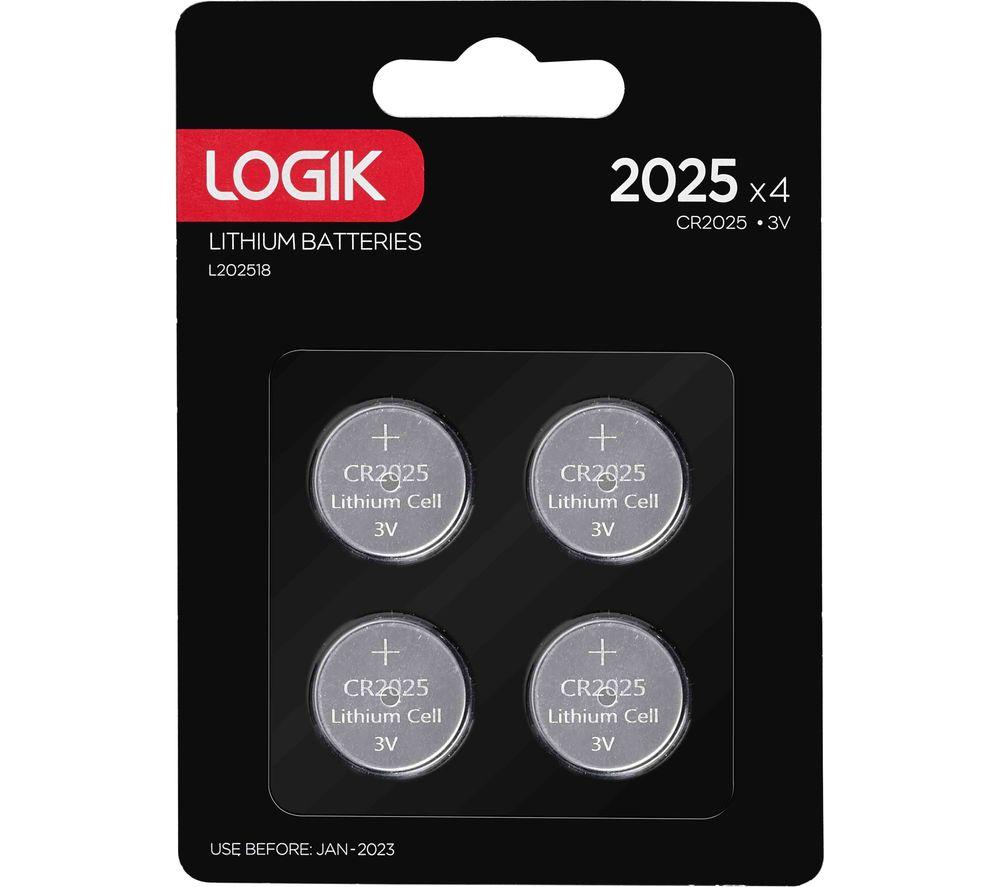 LOGIK 2025 Batteries - Pack of 4