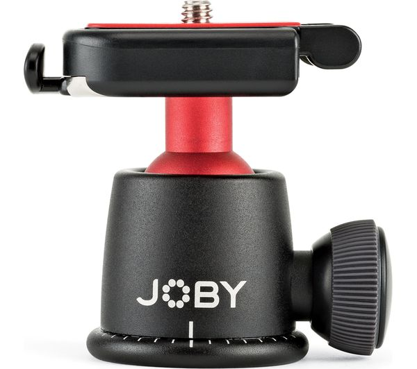 Image of JOBY BallHead 3K Mount - Black & Red