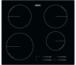 ZANUSSI ZIT6470CB Electric Induction Hob - Black Best Price, Cheapest Prices