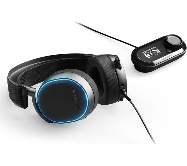 STEELSERIES Arctis Pro + GameDAC 7 1 Gaming Headset - Black