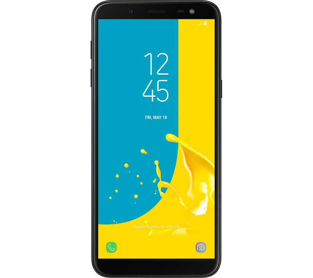 SAMSUNG Galaxy J6 - 32 GB, Black