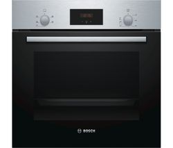 BOSCH Serie 2 HHF113BR0B Electric Oven - Stainless Steel