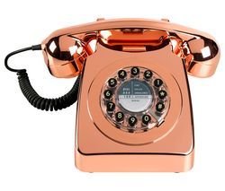 Image of WILD & WOLF 746 Copper Corded Phone