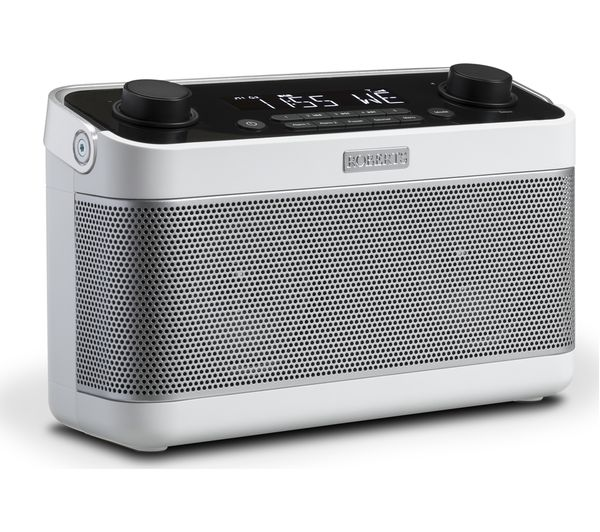 Image of ROBERTS Blutune 5 Portable DAB+/FM Bluetooth Radio - White