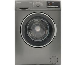 KENWOOD K814WMT18 8 kg 1400 Spin Washing Machine - Inox
