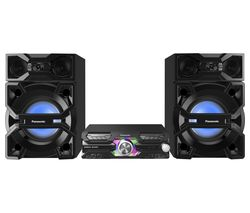 PANASONIC SC-MAX3500EK Bluetooth Megasound Party Hi-Fi System - Black