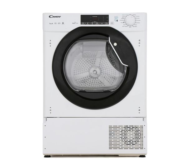 Image of CANDY CBTD H7A1TBE-80 NFC Integrated 7 kg Heat Pump Tumble Dryer