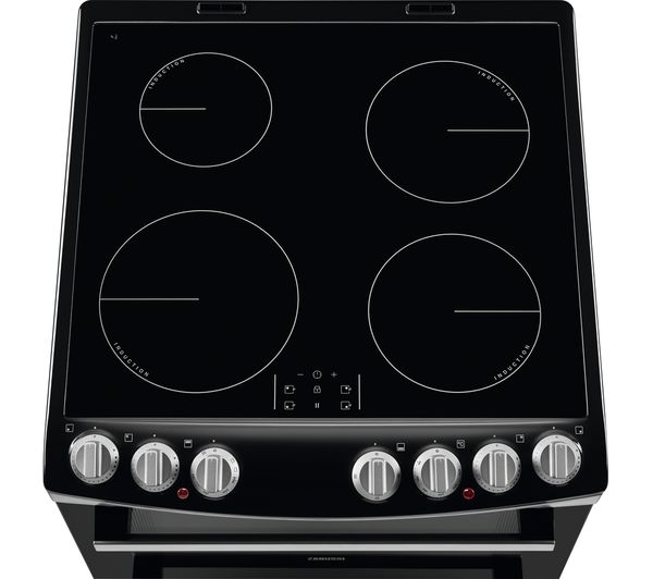 Zsi Zci69060xe 60 Cm Electric Induction Cooker Black Stainless Steel