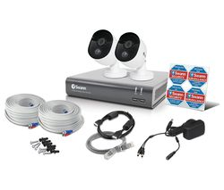 SWANN SWDVK-445802V 4-Channel Full HD 1080p Smart Security System - 1 TB, 2 Cameras