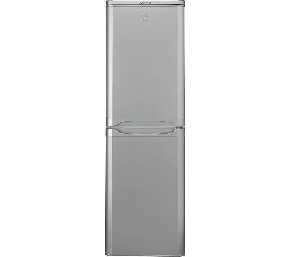 INDESIT IBD5517SUK 50/50 Fridge Freezer - Silver, Silver