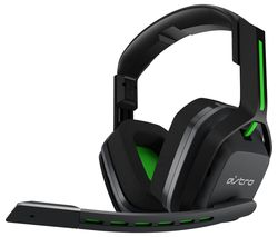 A20 Wireless Gaming Headset - Grey & Green