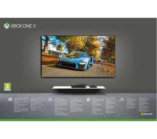 MICROSOFT Xbox One X with Forza Horizon 4 & Forza Motorsport 7