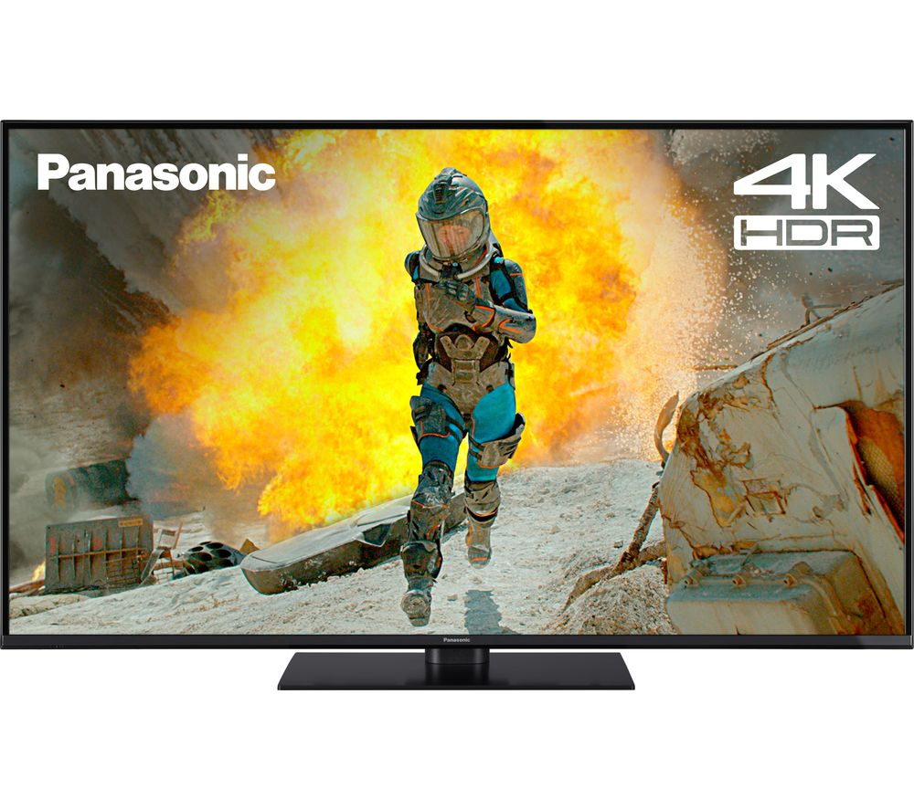 "55""  PANASONIC TX-55FX555B  Smart 4K Ultra HD HDR LED TV, Gold"