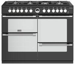 STOVES Sterling S1100DF 110 cm Dual Fuel Range Cooker - Black