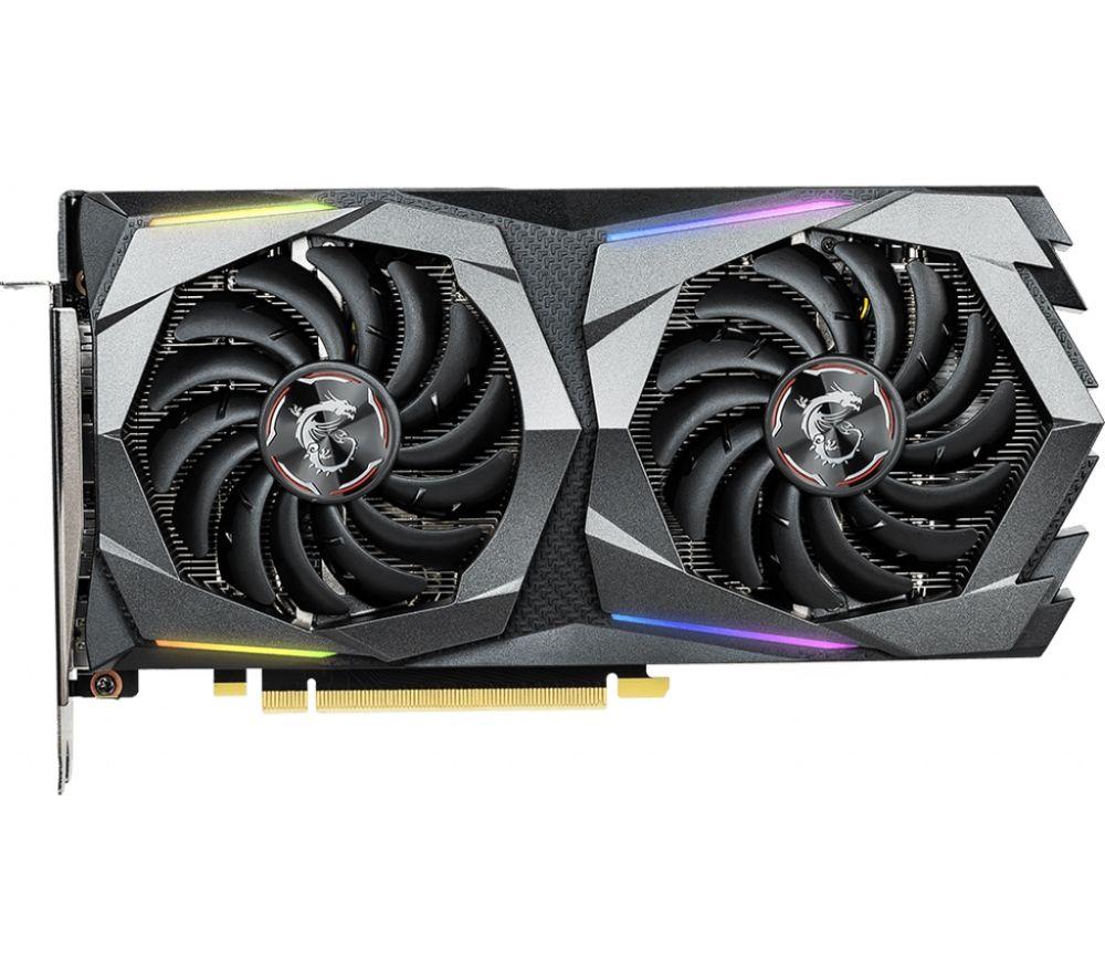 MSI GeForce GTX 1660 Ti 6 GB GAMING X Graphics Card