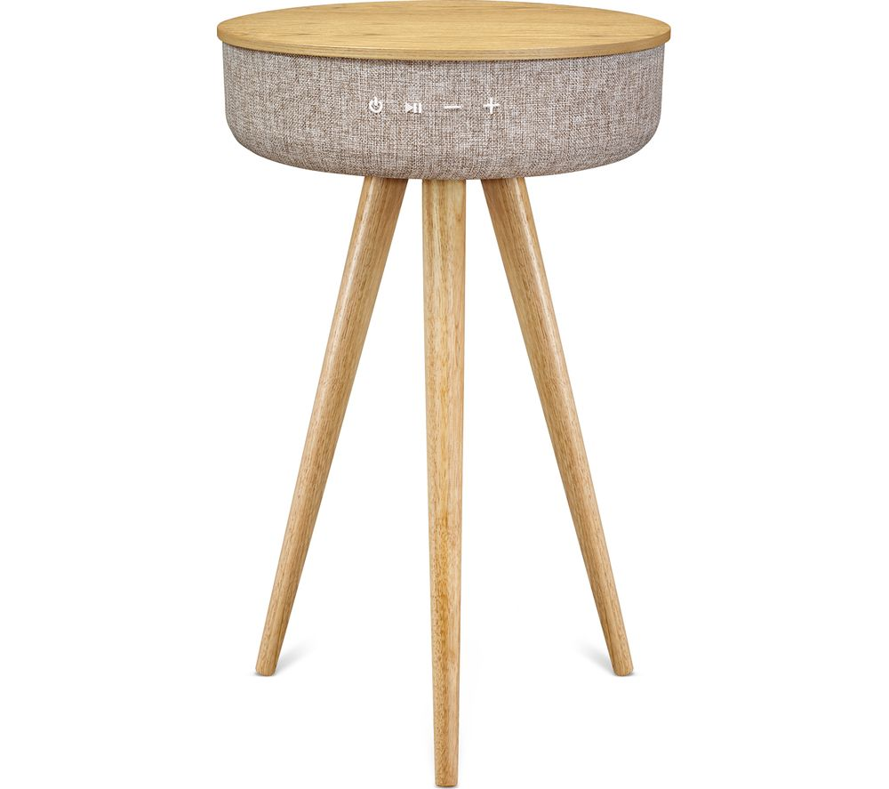 VICTROLA VS 140 Bluetooth Speaker Table - Grey & Oak