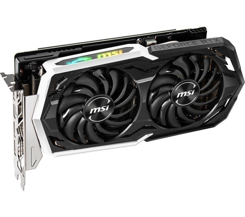 MSI GeForce RTX 2060 SUPER 8 GB ARMOR OC Graphics Card