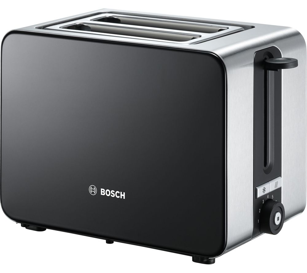 BOSCH Sky TAT7203GB 2-Slice Toaster - Black