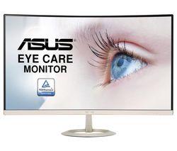 "VZ27VQ Full HD 27"" Curved LCD Monitor - Black & Gold"