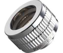 Glacier 16 mm Hard Tube Fitting - Mirror Chrome