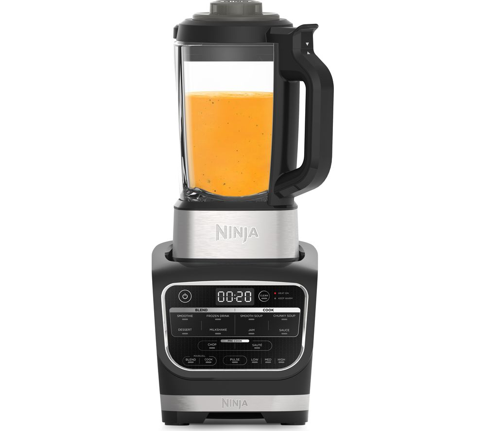 Image of NINJA HB150UK Hot & Cold Blender & Soup Maker - Black, Black